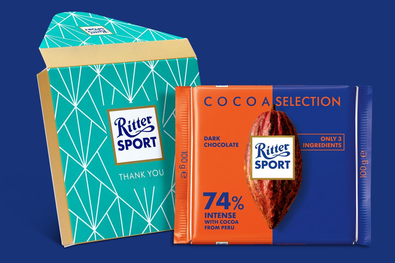 74% Peru Origin Gift Wrapped 100g Chocolate Bar