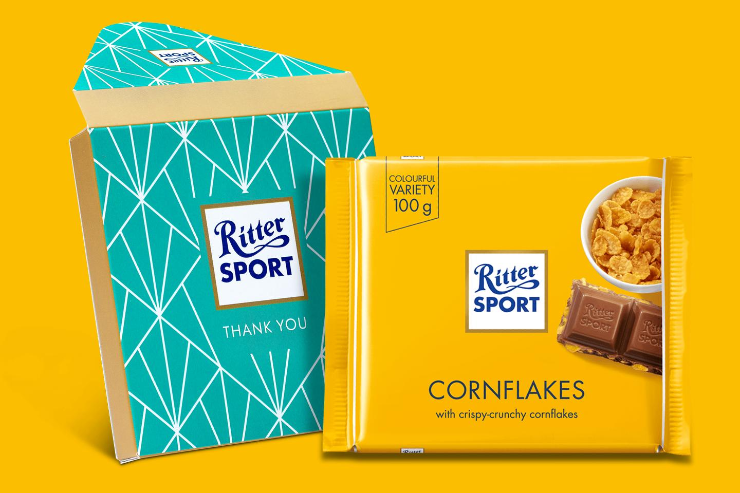 Cornflakes Gift Wrapped 100g Chocolate Bar