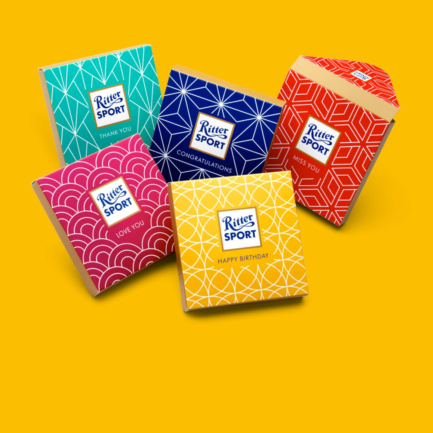 Gift Wrappers from Ritter Sport