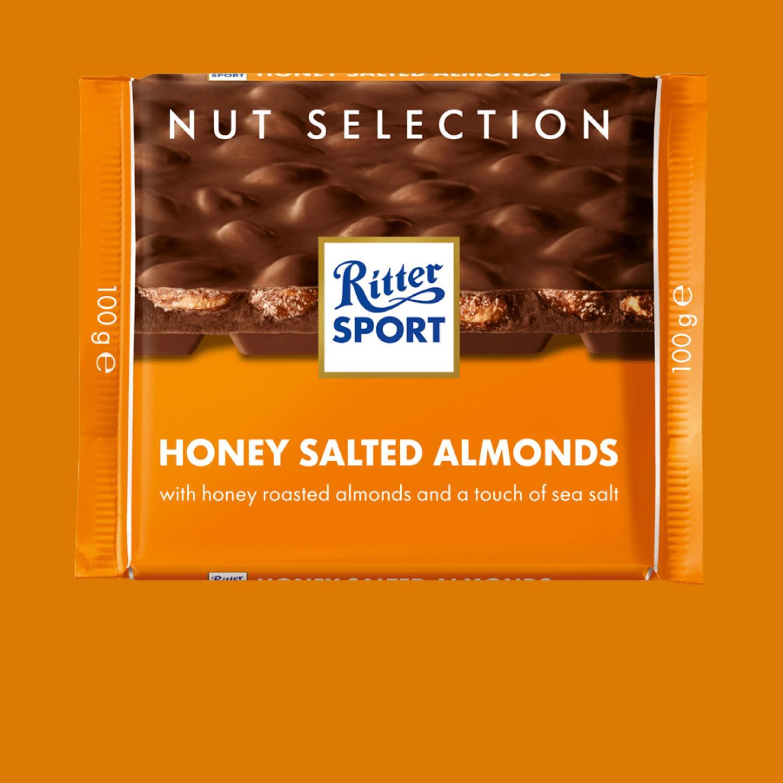 Honey Salted-Almonds 100g Ritter Sport