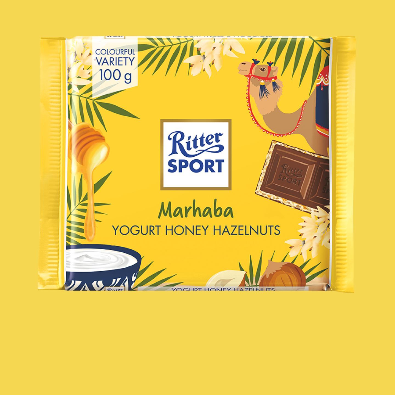 Marhaba Hazelnuts Yogurt 100g Ritter Sport