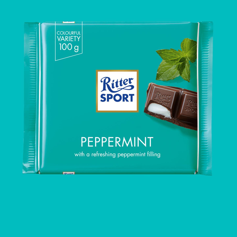 Peppermint 100g Ritter Sport