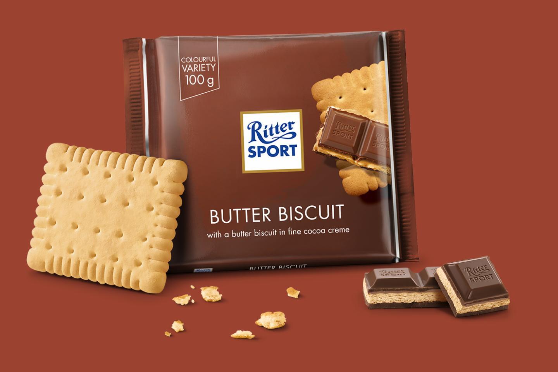Butter Biscuit 100g Ritter Sport