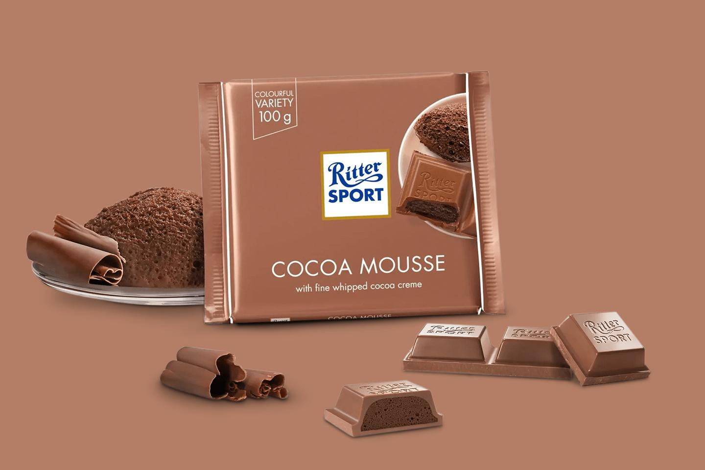 Cocoa Mousse 100g Ritter Sport
