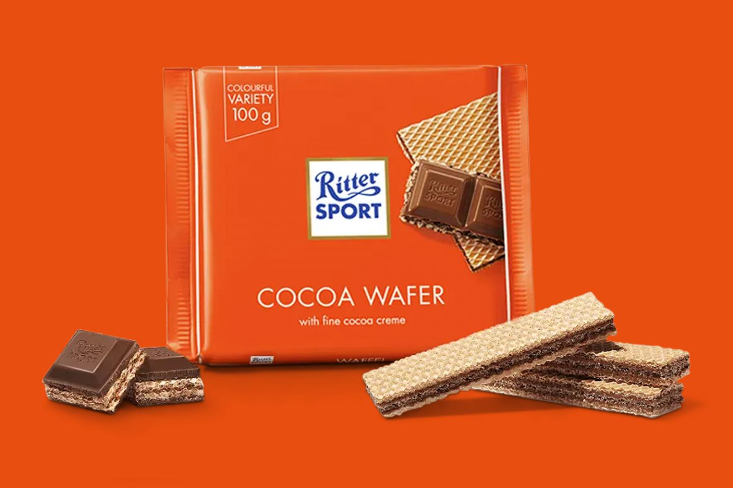 Cocoa Wafer 100g Ritter Sport