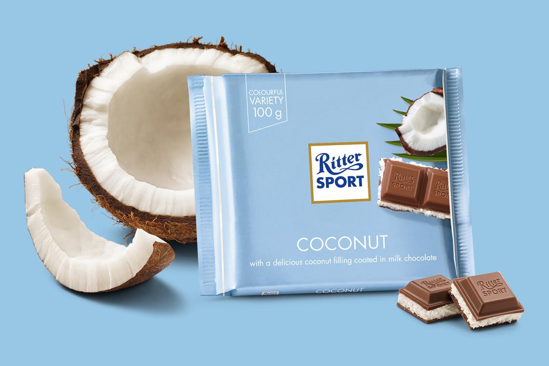 Coconut 100g Ritter Sport