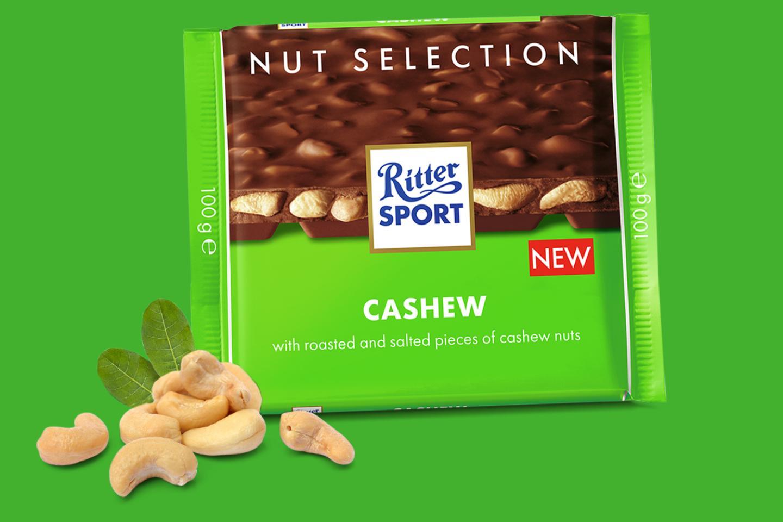 Cahew Nut 100g Ritter Sport