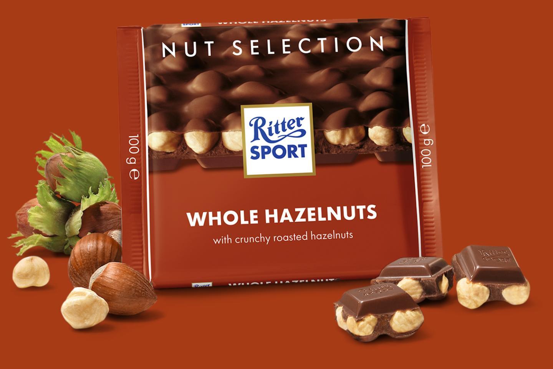 Whole Hazelnuts 100g Ritter Sport