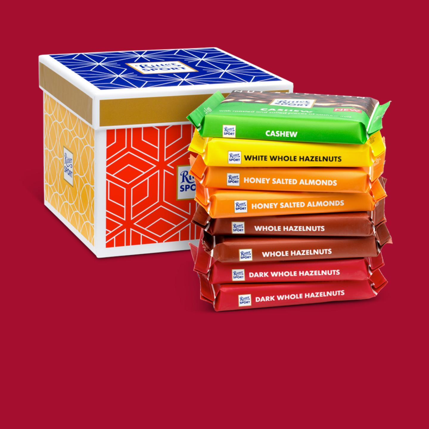 Ritter Sport Nut Selection Chocolate Gift Box