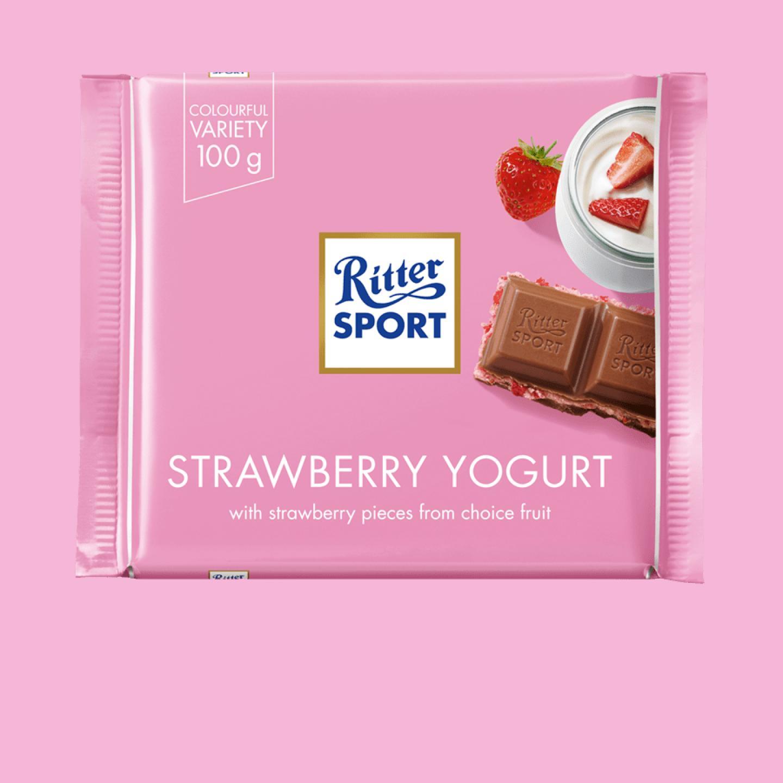 Strawberry Yogurt 100g Ritter Sport