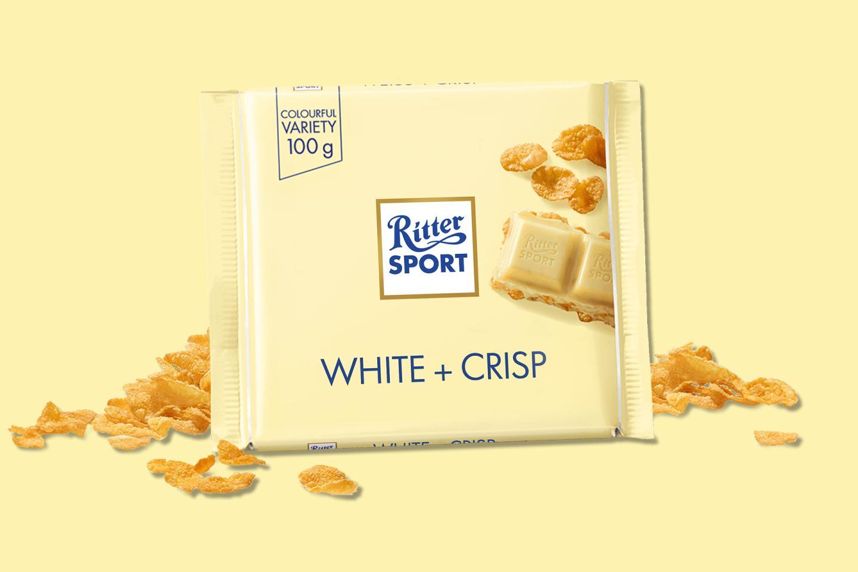 White & Crisp 100g Ritter Sport
