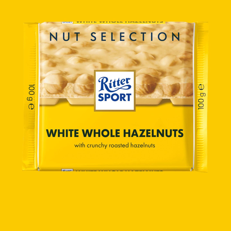 White Hazelnuts 100g Ritter Sport